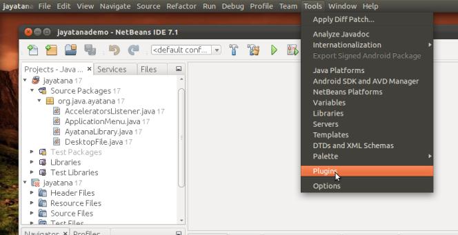 Integrando Java con Ubuntu(netbeans)